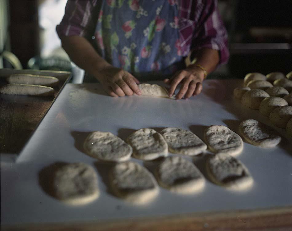 Kwan Makes Bread 5. 2013